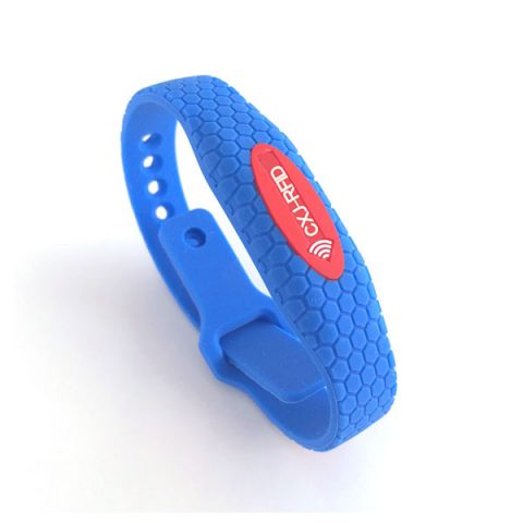 CJ2308A11 Silicone RFID Chip Bracelet