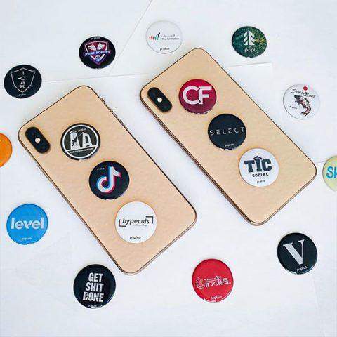 NFC social media sticker