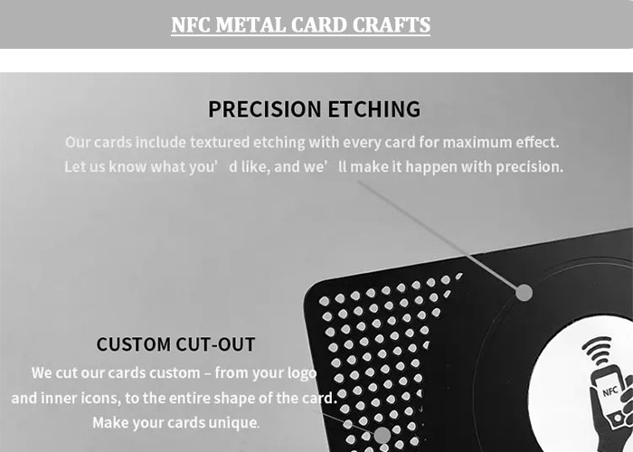 NFC-metal-card-craft